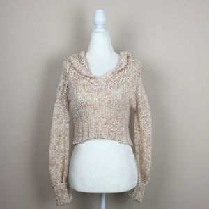 b40e653cc22 Arden B Sweaters - Arden B. - Hooded Cropped Sweater